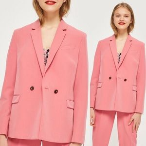 🆕 Topshop Double Breasted Suit Jacket